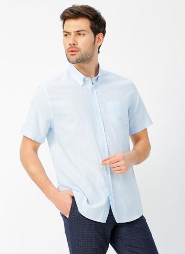 Fabrika Comfort Fabrika Comfort Mavi Gömlek Mavi